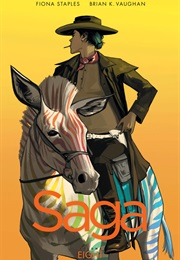 Saga Volume 8 (Brian K. Vaughn and Fiona Staples)