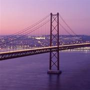 Ponte 25 De Abril Bridge, Lisbon