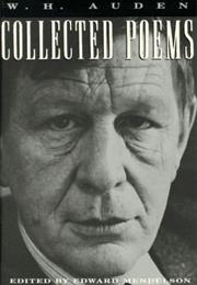 Collected Poems of W.H. Auden