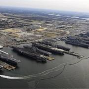Naval Station Norfolk (Largest World Naval Base)