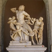 """Laocoon and His Sons"" in Vatican City"