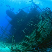 HMS Thistlegorm, Egyptian Red Sea