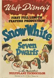 Snow White and the Seven Dwarfs (1937, William Cottrell, David Hand, W