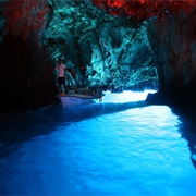 The Blue Cave of Bisevo - Croatia
