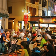 Eat at Hawker Food Markets in Signapore