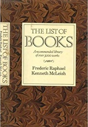 The List of Books (Frederic Raphael and Kenneth Mcleish)