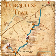 Turquoise Trail Scenic Byway, New Mexico