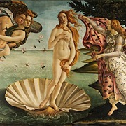 Birth of Venus by Botticelli, Florence