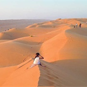Rub'a Al-Khali (Empty Quarter), Oman