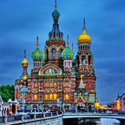 Church of Our Saviour on Spilled Blood, St. Petersburg