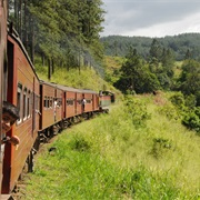 Riding a Train Through the Highlands of Sri Lanka