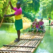 Bamboo Rafting on the Martha Brae, Jamaica