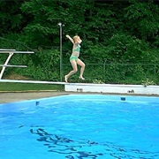 Jump off a Diving Board