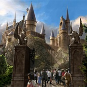 The Wizarding World of Harry Potter at Universal Studios in Orlando,Florida