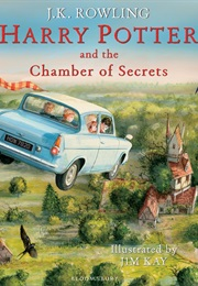 Harry Potter and the Chamber of Secrets: The Illustrated Edition (J. K. Rowling and Jim Kay)