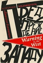 Warning to the West (Aleksandr Solzhenitsyn)