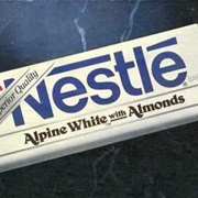 Bring Back the Nestle Alpine White Candy Bar