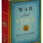 Read War and Peace