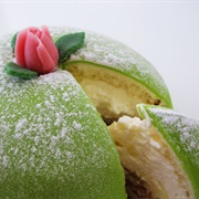 Princess Cake in Sweden