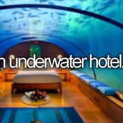 Stay in an Underwater Hotel