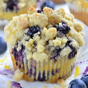 Blueberry Lemon Muffin