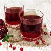 #50 Beverages Fruit Juice Twosomes: Cranberry Juice and Sweetened Grapefruit Juice