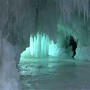 Ice Caves, Munising, Michigan