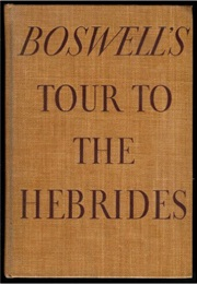 Journal of a Tour to the Hebrides (James Boswell)