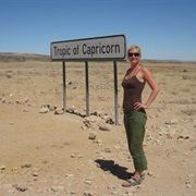 Cross the Tropic of Capricorn