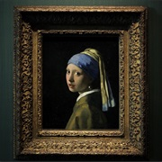 Girl With a Pearl Earring in the Hague Netherlands