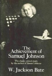 SAMUEL JOHNSON by Walter Jackson Bate