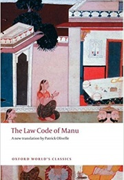 The Law Code of Manu (Anonymous)