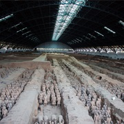 Qin Shi Huang's Mausoleum, China