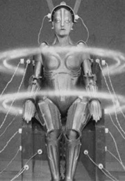 Transformed Maria Robot Brought to Life in Metropolis (1927)