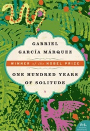 One Hundred Years of Solitude (Gabriel Garcia Marquez)