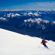 Skiing the Andes, Chile