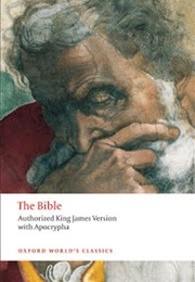 The Bible: Authorized King James Version With Apocrypha (Various)