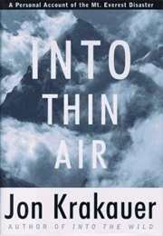 Into Thin Air (Jon Krakauer)
