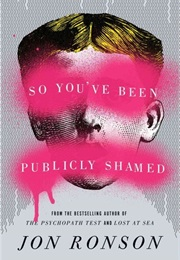 So You've Been Publicly Shamed (Jon Ronson)