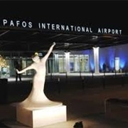 Paphos Airport, Cyprus
