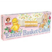 Vanilla Easter Basket Cakes