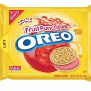 Fruit Punch Oreo Cookie