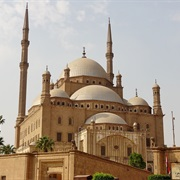 Mosque of Muhammad Ali in Cairo, Egypt