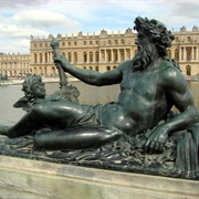 Neptune and the Palace of Versailles