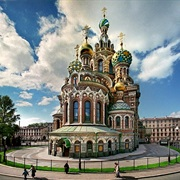 Church on the Spilled Blood, Russia