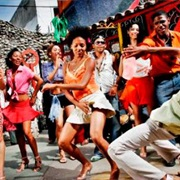Danced Salsa in Streets of Cuba