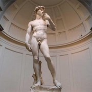 David by Michelangelo, Galleria Dell'accademia, Florence, Italy