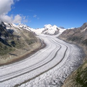 Glacier of Aletsch