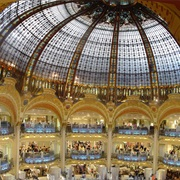 Shop at Galeries Lafayette.