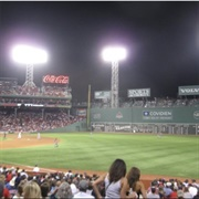 Watch a Ballgame at Fenway Park